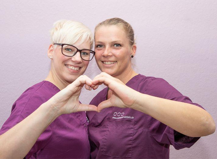 Zahnärzte Datteln - Zwei Frauen mit Herz - Neue Patienten
